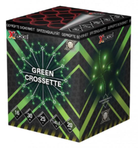Feuerwerk Green Crossette von Xplode online kaufen im Feuerwerkshop Funkelfun