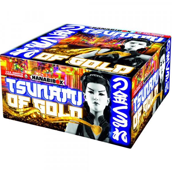 Feuerwerk Tsunami Of Gold von Lesli online kaufen im Feuerwerkshop Funkelfun