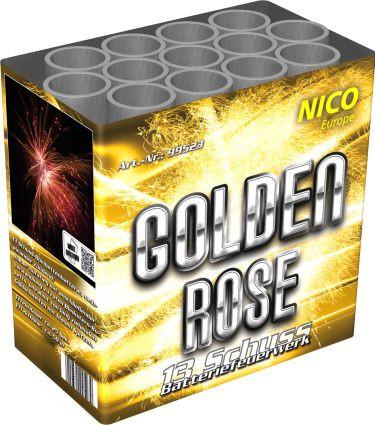 Feuerwerk Golden Rose von NICO online kaufen im Feuerwerkshop Funkelfun