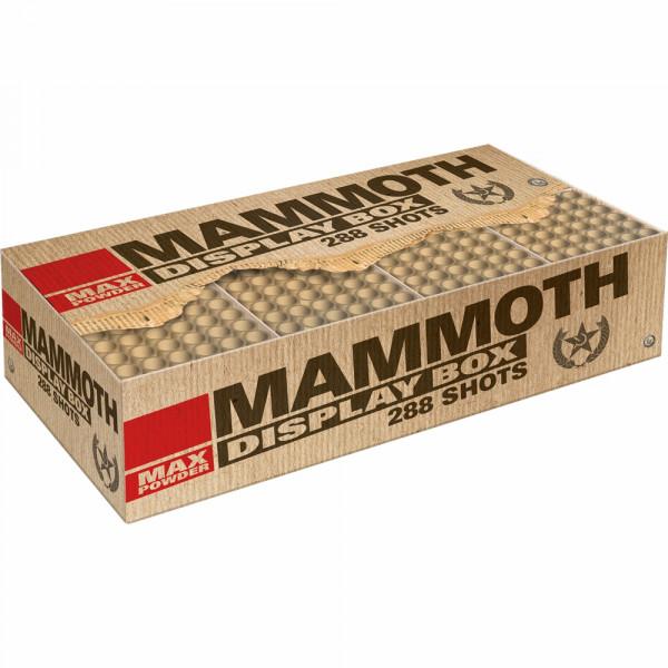 Feuerwerk Mammoth von Lesli online kaufen im Feuerwerkshop Funkelfun