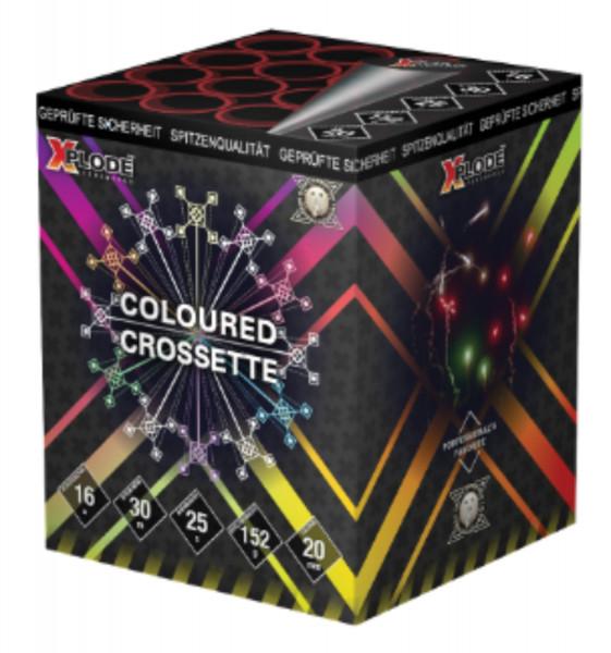 Feuerwerk Colorful Crossette von Xplode online kaufen im Feuerwerkshop Funkelfun