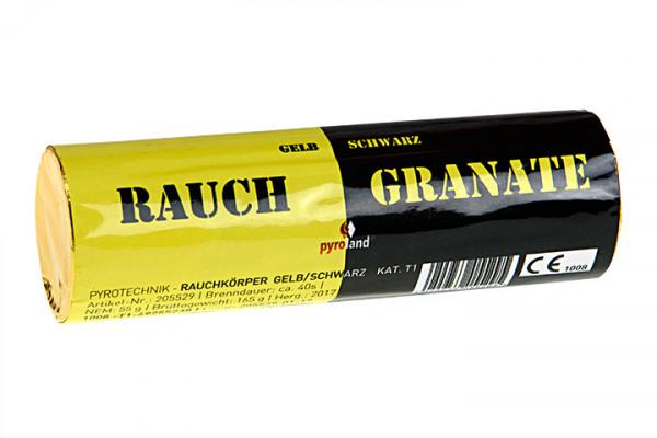 Feuerwerk Rauchgranate Doppelrauch Gelb/Schwarz, T1 von Pyroland online kaufen im Feuerwerkshop Funkelfun