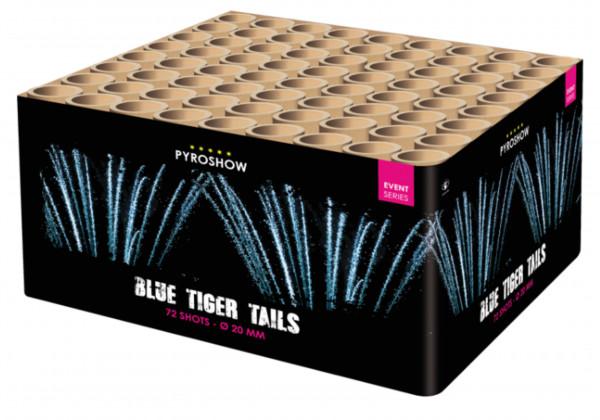 Feuerwerk Blue Tiger Tails 72sh. von Broekhoff online kaufen im Feuerwerkshop Funkelfun