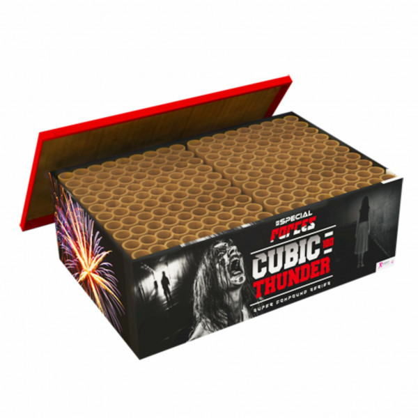 Feuerwerk CUBIC THUNDER von Rubro online kaufen im Feuerwerkshop Funkelfun