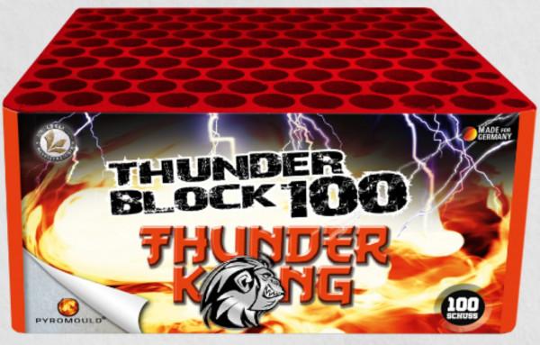 Feuerwerk Thunderblock 100 von Lesli online kaufen im Feuerwerkshop Funkelfun