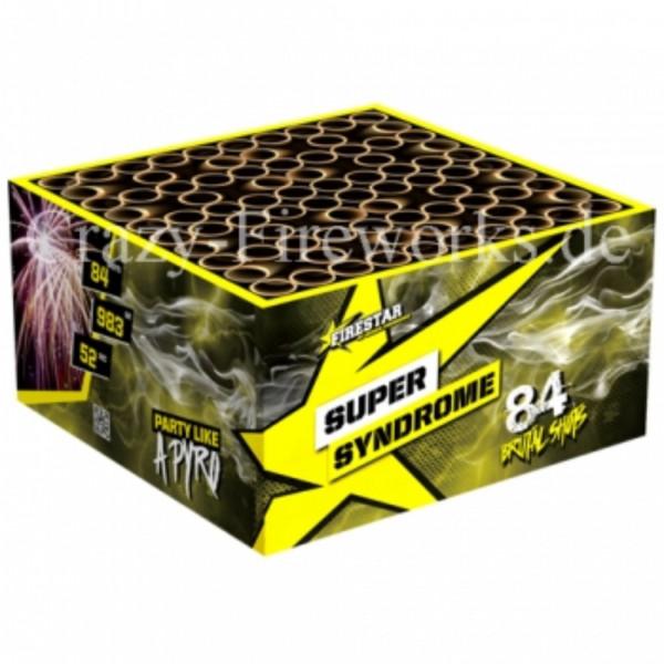 Feuerwerk SUPER SYNDROME BOX von Gaisha online kaufen im Feuerwerkshop Funkelfun