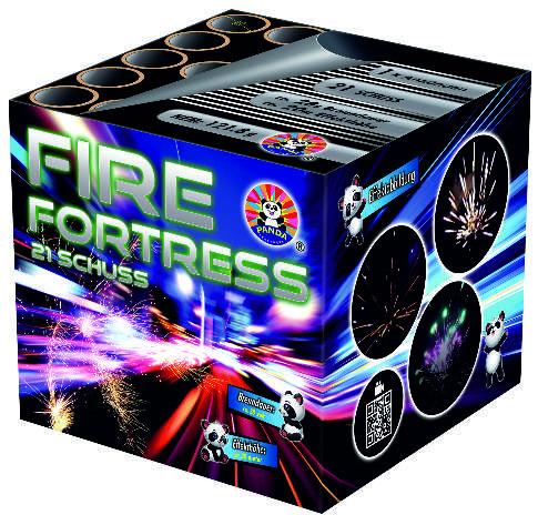 Feuerwerk Fire Fortress von Panda online kaufen im Feuerwerkshop Funkelfun