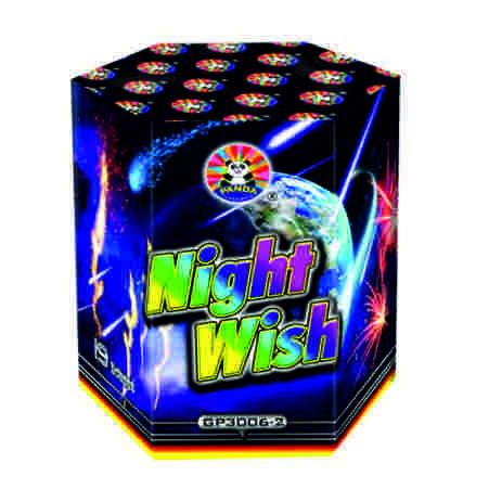 Feuerwerk Night Wish von Panda online kaufen im Feuerwerkshop Funkelfun