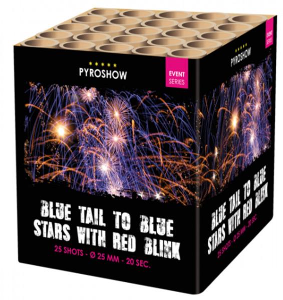 Feuerwerk 2630 Blue Stars & Red Blink w.Blue Tail von Broekhoff online kaufen im Feuerwerkshop Funkelfun