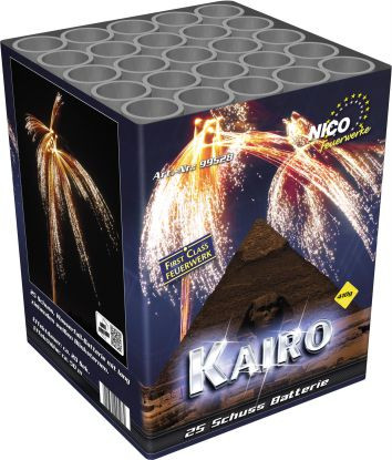 Feuerwerk Kairo von NICO online kaufen im Feuerwerkshop Funkelfun