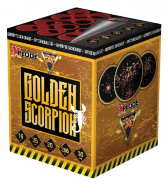Feuerwerk Golden Scorpion von Xplode online kaufen im Feuerwerkshop Funkelfun
