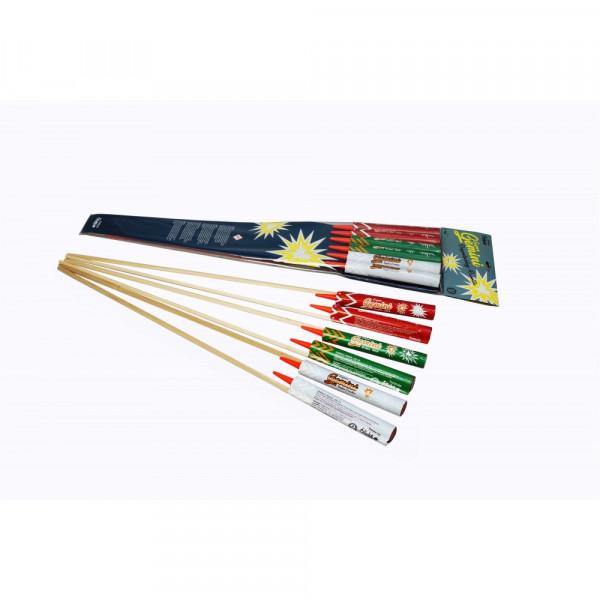 Feuerwerk Super-Gemini Raketen 6 Stück  von Funke online kaufen im Feuerwerkshop Funkelfun