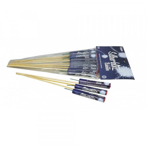Feuerwerk Silberblitz Raketen 10 Stück   von Funke online kaufen im Feuerwerkshop Funkelfun