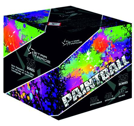 Feuerwerk Paintball von Startrade online kaufen im Feuerwerkshop Funkelfun