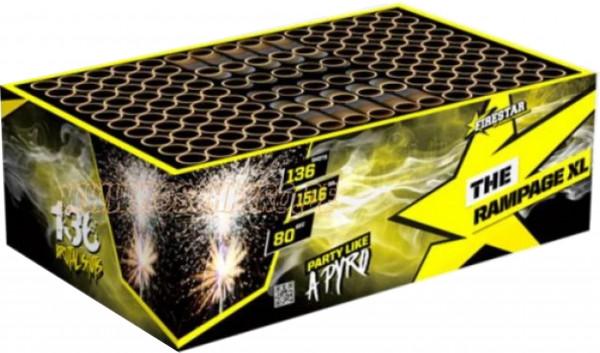 Feuerwerk THE RAMPAGE XL BOX von Gaisha online kaufen im Feuerwerkshop Funkelfun