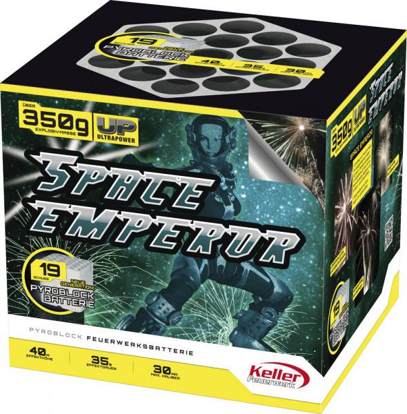 Feuerwerk Space Emperor von Keller online kaufen im Feuerwerkshop Funkelfun