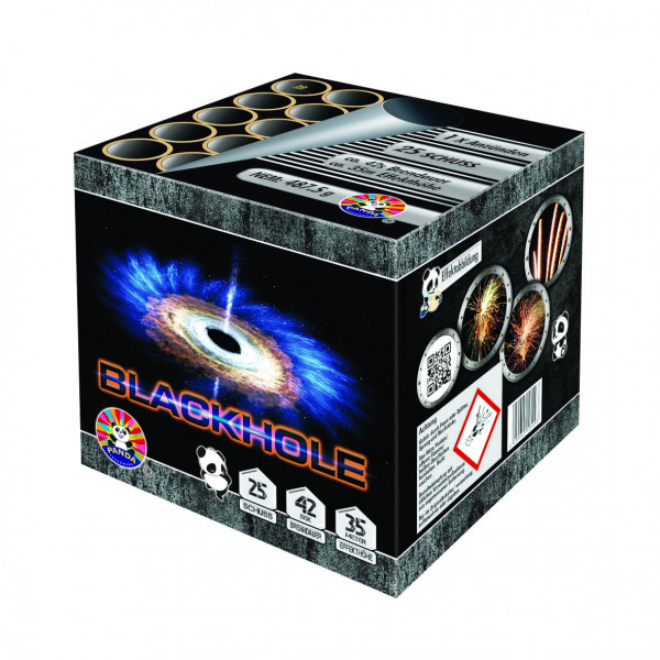 Feuerwerk Blackhole von Panda online kaufen im Feuerwerkshop Funkelfun