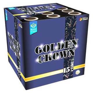 Feuerwerk Golden Crown von Lesli online kaufen im Feuerwerkshop Funkelfun