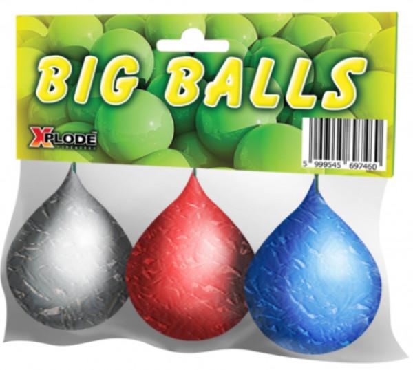 Feuerwerk Big Balls 3 Stück von Xplode online kaufen im Feuerwerkshop Funkelfun