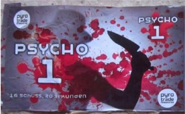 Feuerwerk Psycho 1 von Pyrotrade online kaufen im Feuerwerkshop Funkelfun