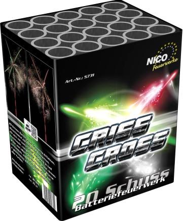 Feuerwerk Criss Cross von NICO online kaufen im Feuerwerkshop Funkelfun