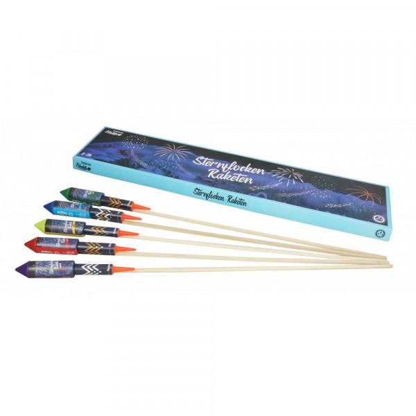 Feuerwerk Sternflocken Raketen  von Funke online kaufen im Feuerwerkshop Funkelfun