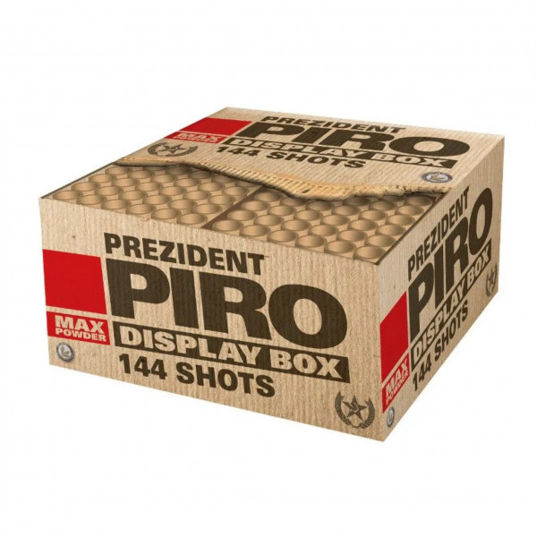Feuerwerk Prezident Piro von Lesli online kaufen im Feuerwerkshop Funkelfun